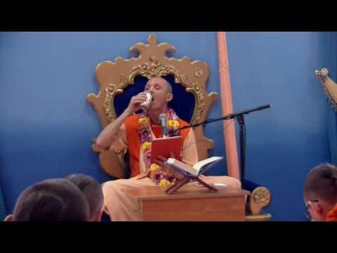 Шримад Бхагаватам 1.10.2 - Бхакти Ананта Кришна Госвами
