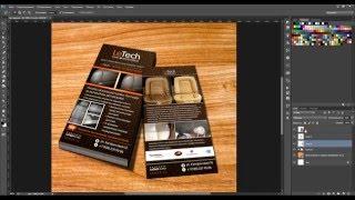 Урок Adobe Photoshop CC 2015. Создание мокапа