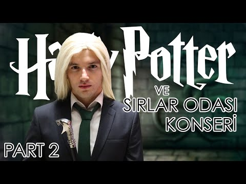 Harry Potter Konseri 2. Gün  Söyleşi ve Konser! Mösyö Taha & Nilüfer Baş & Begüm