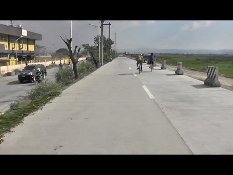 2 bagong lane ng Laguna Lake Highway o C-6 dike road, madadaanan na - YouTube