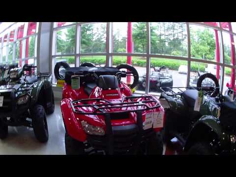 Capital Powersports Honda indoor showroom. 5-22-13