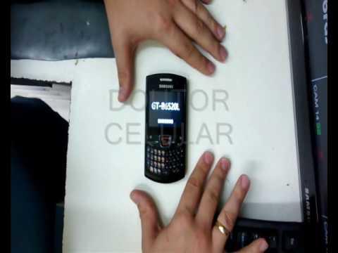 Dr.Celular - Samsung B6520L - Hard Reset - Desbloquear - Resetar
