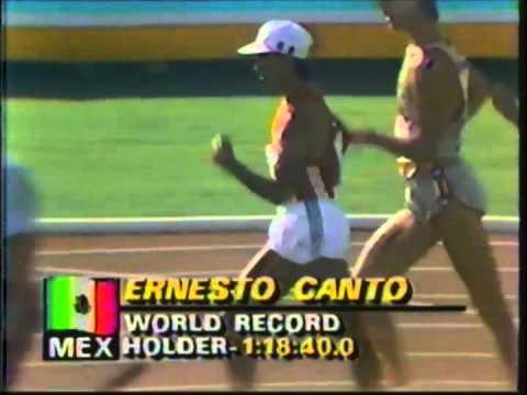 1984 Olympic Games Track & Field - Men's 20 Kilometer Walk