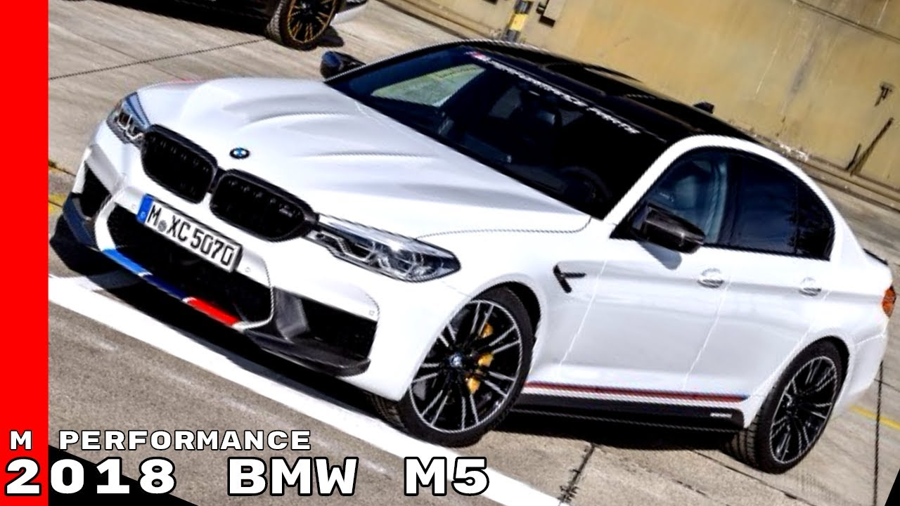 2018 Bmw M5 M Performance Parts Exhaust Sound