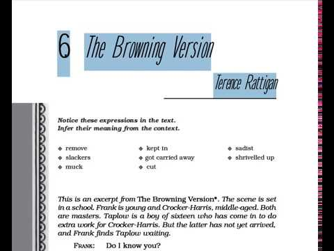 The Browning Version Full Hindi Explanation
