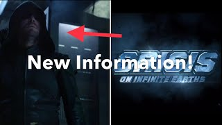 New Crisis on Infinite Earths and Arrow Season 8 Information!