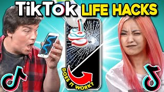 Generations React To & Try TikTok Life Hacks