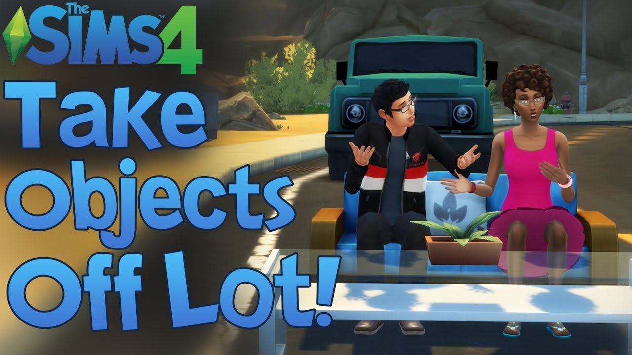 The Sims 4: PLACE OBJECTS OFF LOT, ROTATE OBJECTS, AND MORE! (Mod Showcase)