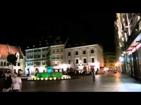 Bratislava night fever - Bratislava at night - Bratislava by night - Bratislava it's a Party