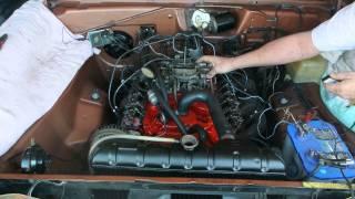 1967 Dart 273 Engine Start