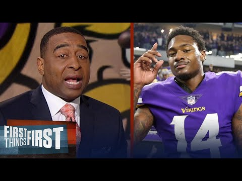 Nick and Cris on the Vikings' 29-24 win over the Saints in the NFL playoffs | FIRST THINGS FIRST