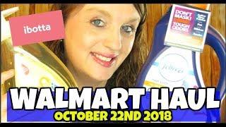 Walmart Ibotta Haul October 22nd 2018