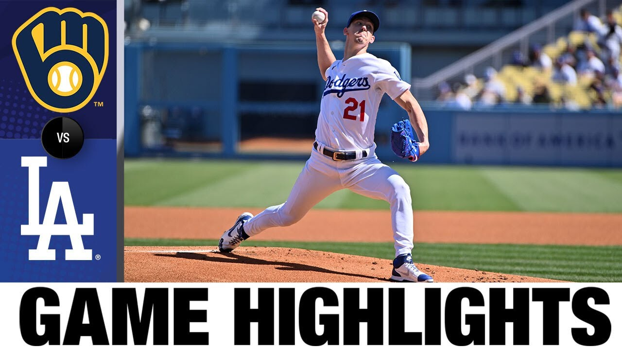 Download Brewers vs. Dodgers Game Highlights (10/3/21)   MLB Highlights