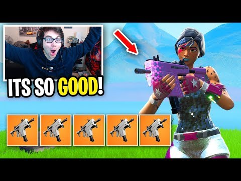 I can ONLY use the *NEW* Burst SMG in Fortnite... (THIS IS OVERPOWERED)