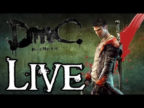 Mitch Must Die - DmC Dante Must Die Difficulty Live Stream (Previously Recorded on Twitch)