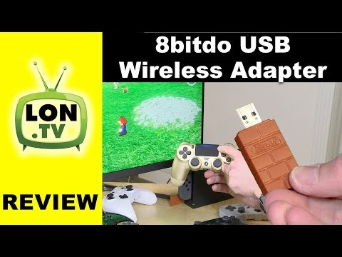 8bitdo USB Wireless Adapter Review- PS4 / Xbox One