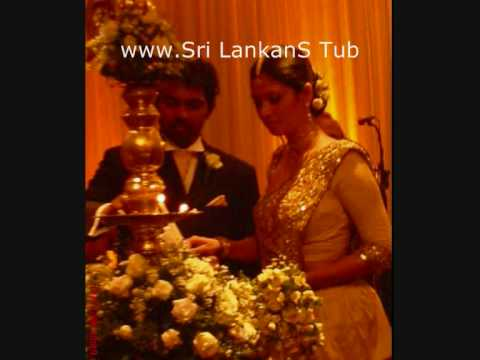 Santhush Weeramans wedding