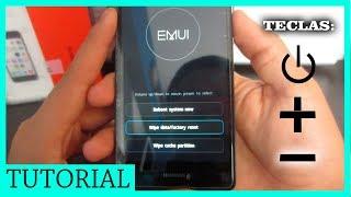 FORMATEAR Huawei P8/P8 lite (Sin PC)(Bien Explicado)(Hard Reset) - ValPro