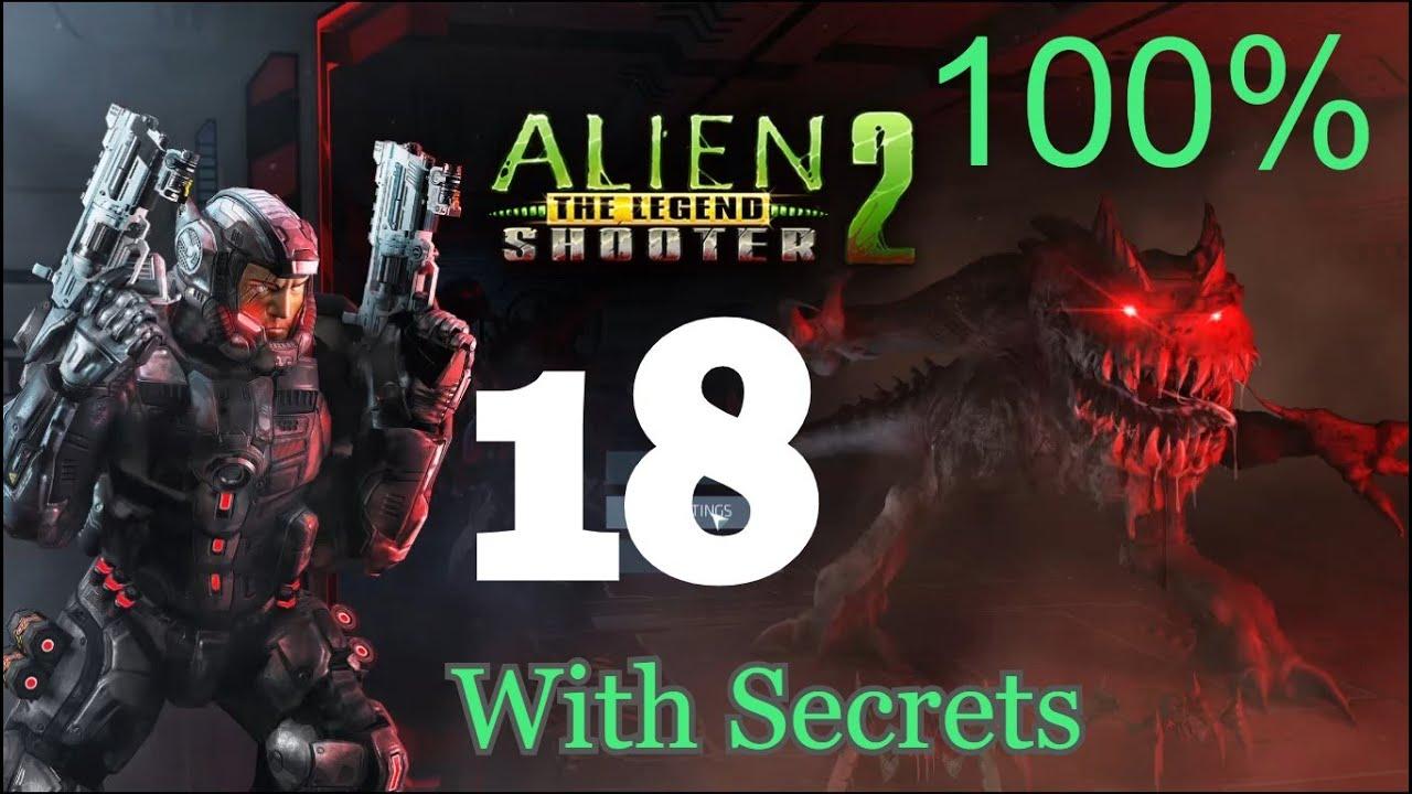 Alien Shooter 2 The Legend – Mission 18 With Secrets