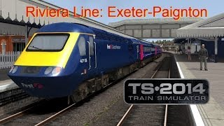 Exeter to Paignton - Riviera Line - Train Simulator 2014