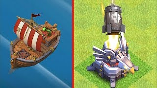 "EAGLE ROCKET TO BOAT!!  ""Clash Of Clans"" 1 Million GOLD RAID!!"