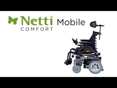 Netti Mobile - Movie about how to exchange a motor and how to add a magnetic sensor for park brake