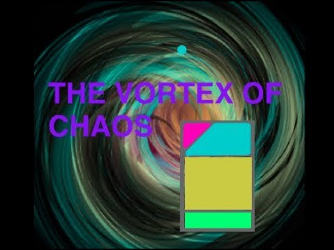 The Vortex of Chaos Homemade TCG!
