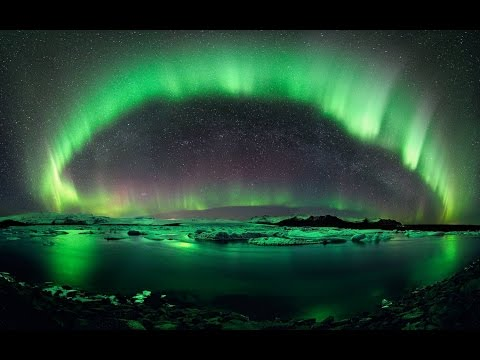 Удивительные природные явления в Антарктиде.