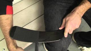 How To Tape A Hockey Stick Blade - HowToHockey.com