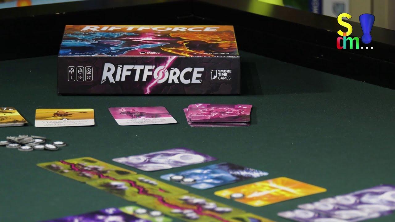 Spiel doch mal RIFTFORCE! - Brettspiel Rezension Meinung Test #365