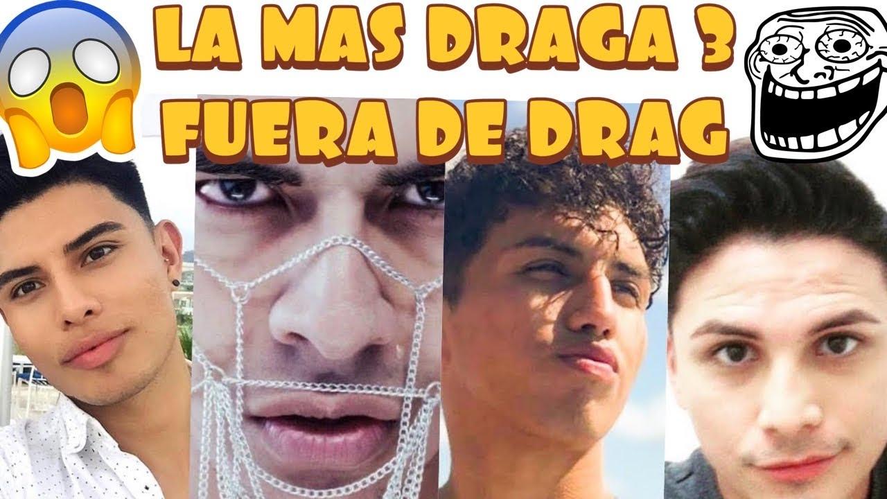 LA MAS DRAGA 3 | CAST FUERA DE DRAG | REACCION