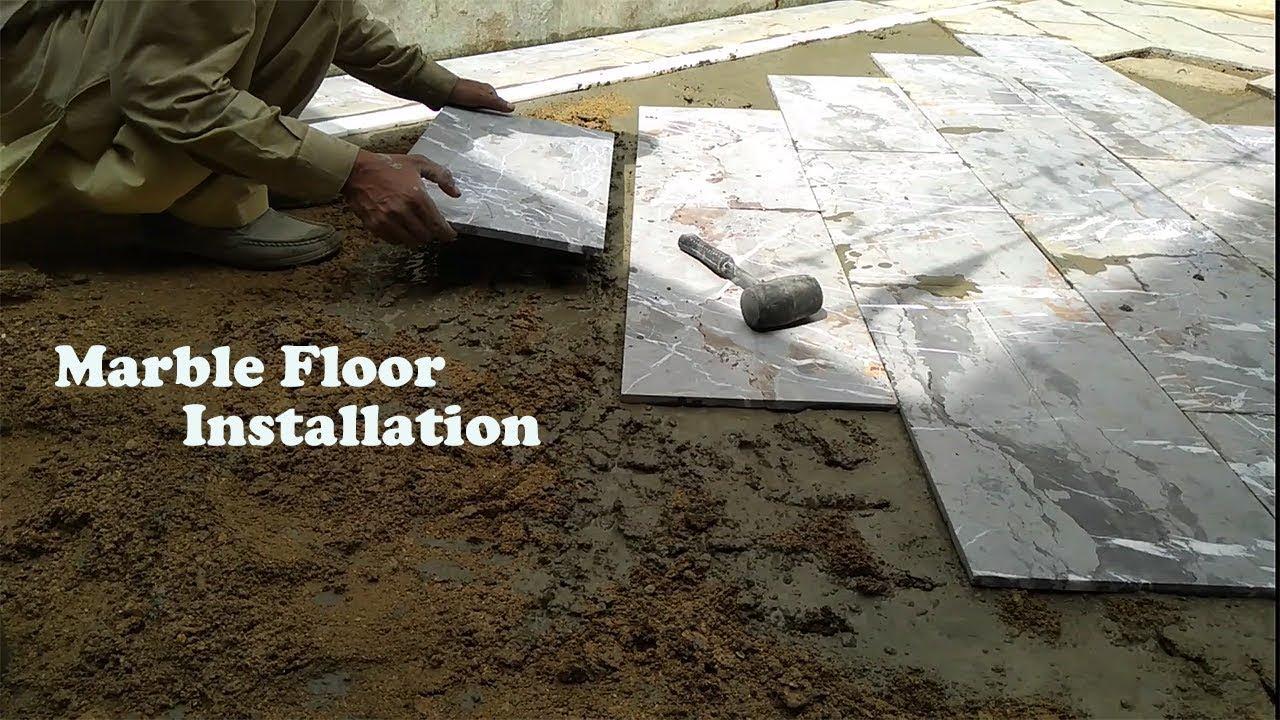 Marble Floor Installation
