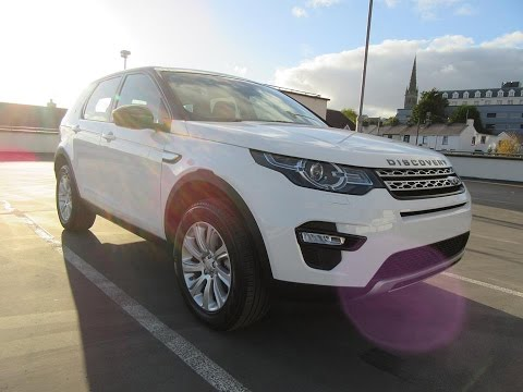Review & Test Drive: Land Rover Discovery Sport HSE