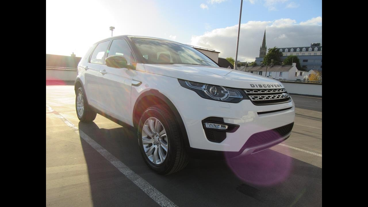 review & test drive: land rover discovery sport hse - youtube