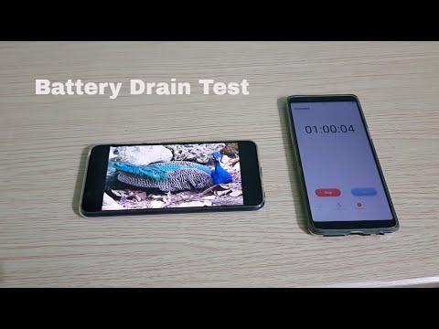 6GB RAM Asus ZenFone Max Pro M1 Battery Drain Test