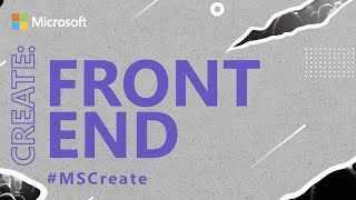 Meet us at CREATE:Frontend