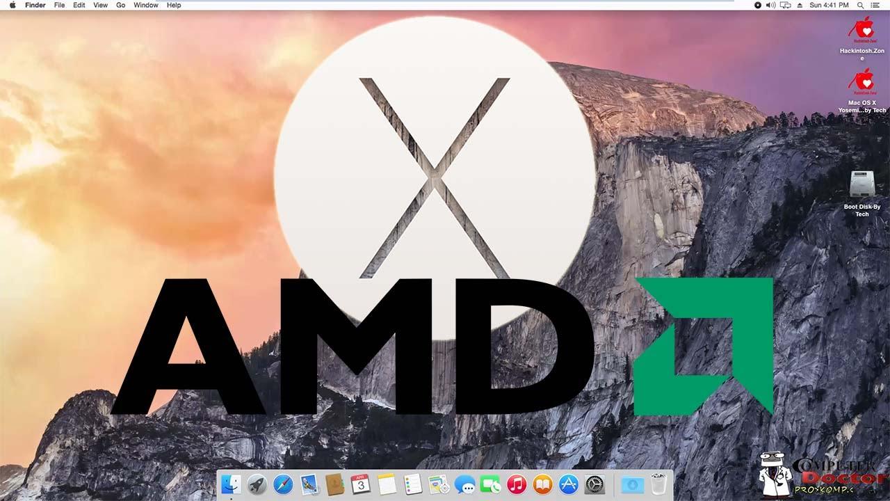 How to install MAC OS X Yosemite 10.10 - Hackintosh - AMD ...