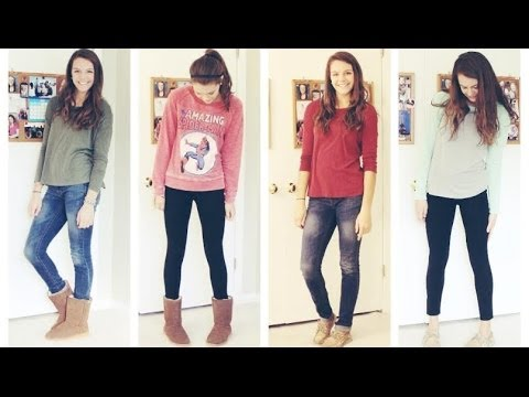 Outfits of the Week January 2014 - YouTube