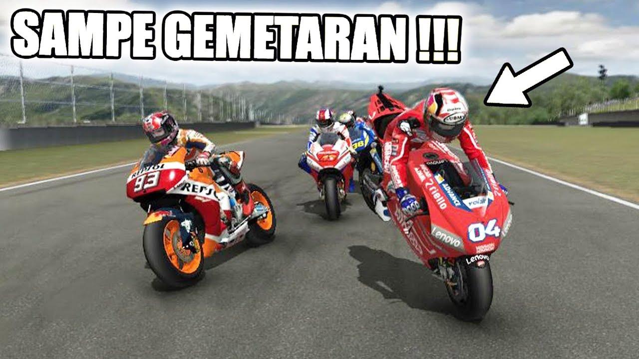 Jangan Ditiru Race Paling Tegang Dan Berbahaya Motogp 08 Mod 2019 Indonesia Youtube