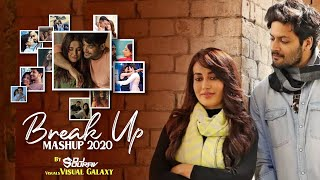 Breakup Mashup 2020 | DJ Sourav | Visual Galaxy | Midnight Memories | Sad Songs