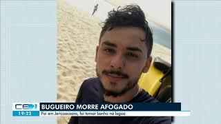 Bugueiro morre afogado durante mergulho em lagoa de Jericoacoara, no Ceará