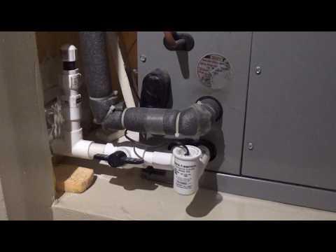 Clean A/C Drain Line - A/C Maintenance