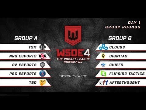 WSOE 4 Rocket League LAN Day 1 (Highlights) thumbnail