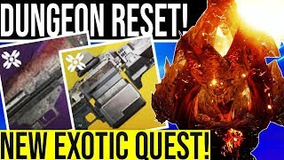 HUGE RESET Moon Dungeon Xenophage Exotic Quest Festival Of The Lost and New PvP Mode