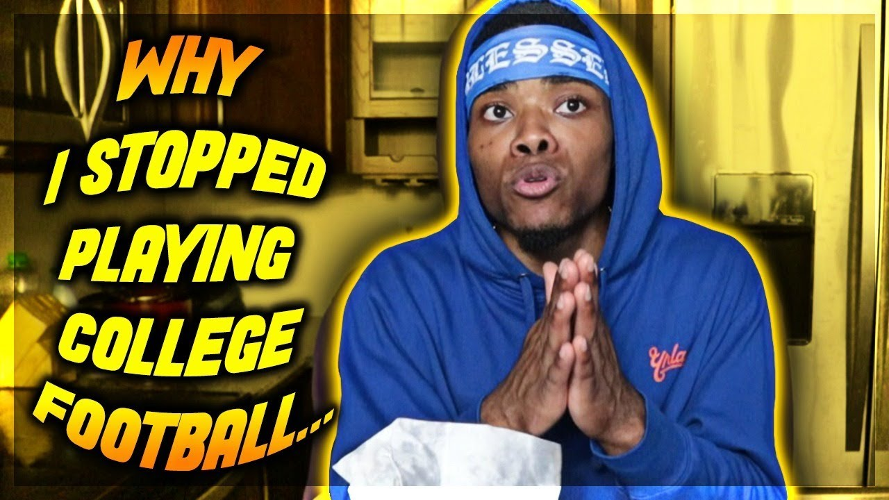 WHY I STOPPED PLAYING COLLEGE FOOTBALL & GETTING KICKED OUT OF COLLEGE | STORY TIME