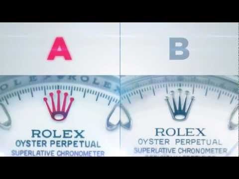 Rolex Daytona Fake vs Real - Official Rolex Video.