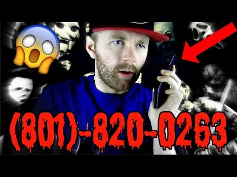 DO NOT CALL THIS NUMBER!!! (801)-820-0263 - Scary Phone Calls!!