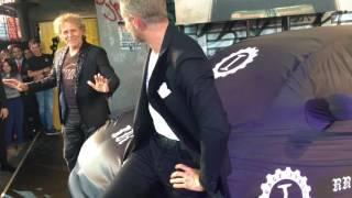 Renzo Rosso e Lapo Elkann svelano la Fiat 500 555RR