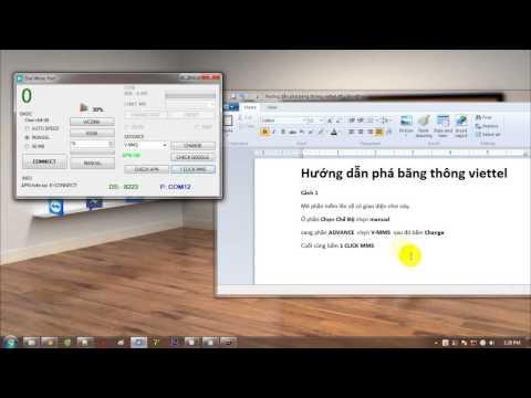 phần mềm hack băng thông dcom 3g viettel 2015 - Hướng dẫn phá băng thông DCom 3G VietTel 2015 bằng dial write port