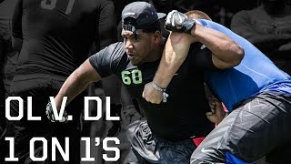 The Opening 2015 OL vs DL 1 on 1